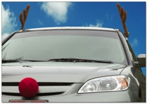 Car with Antlers